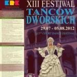 XIII Festiwal Tańców Dworskich Cracovia Danza